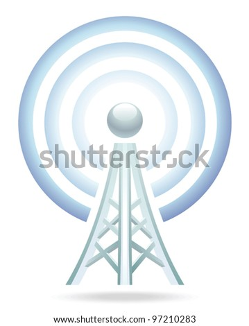 wi-fi tower icon