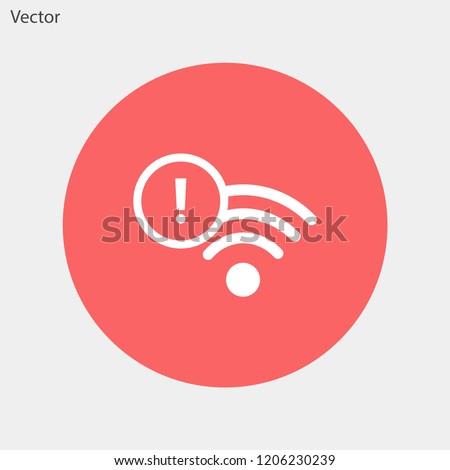 Wi-Fi vector icon 10 eps
