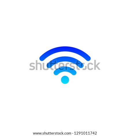 Wi-if icon for web and mobile.Wireless icon.Eps 10 vector.