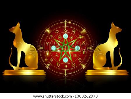 Wiccan Symbol Vectors - Download Free Vector Art, Stock Graphics