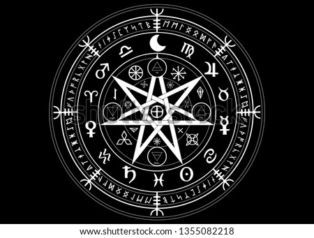 Wiccan Symbol Vectors - Download Free Vectors, Clipart