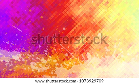 Stock Photo Wide format abstract grunge background. Vector without gradient. Place for text. Paint splashes. Background for presentation business card. Full HD 4K grunge wallpaper. Vector EPS10 with transparency