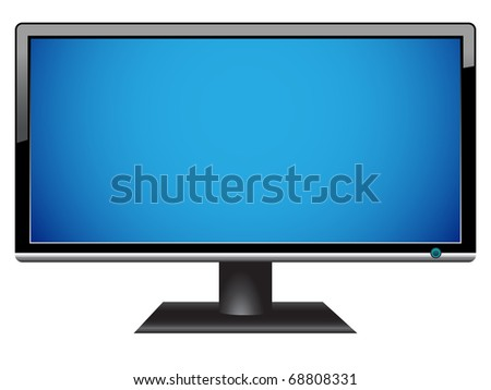 widescreen hdtv lcd monitor