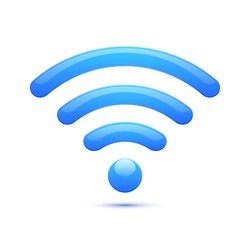 wifi icon, abstracts
