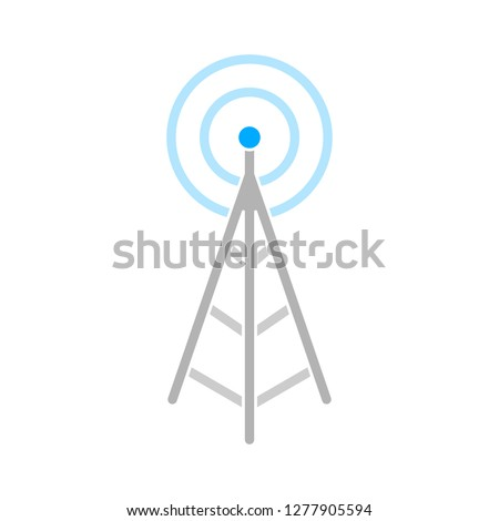 wifi signal frequency. internet icon - network sign isolated, wifi network illustration - wifi Vector