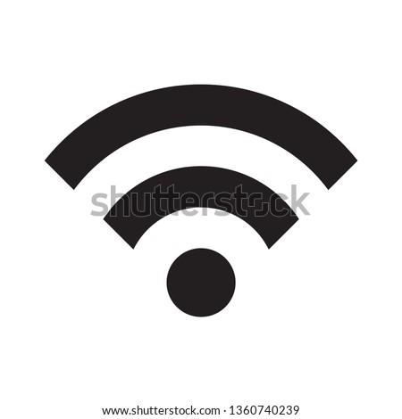 Wifi signal vector icon