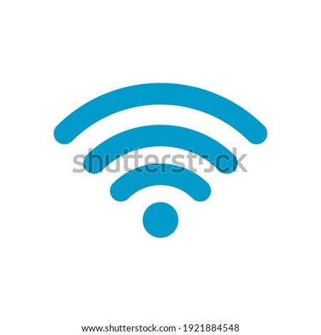 Wifi symbol icon vector illustration EPS 10 Zdjęcia stock ©