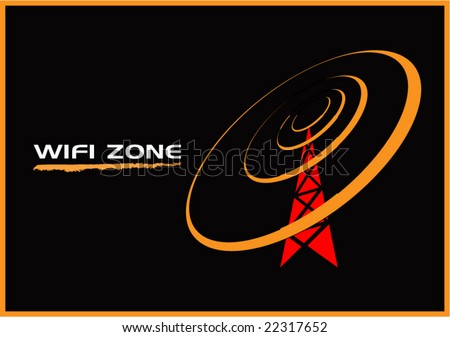 wifi zone illustration