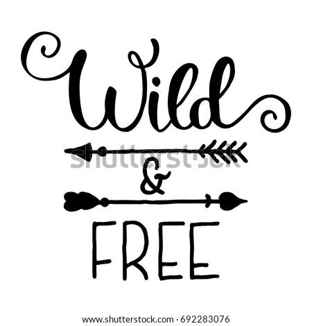 wild and free hand brush