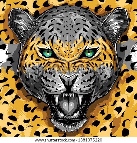 wild animal leopard fashion