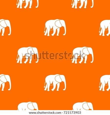 wild elephant pattern repeat