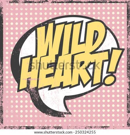 wild heart background