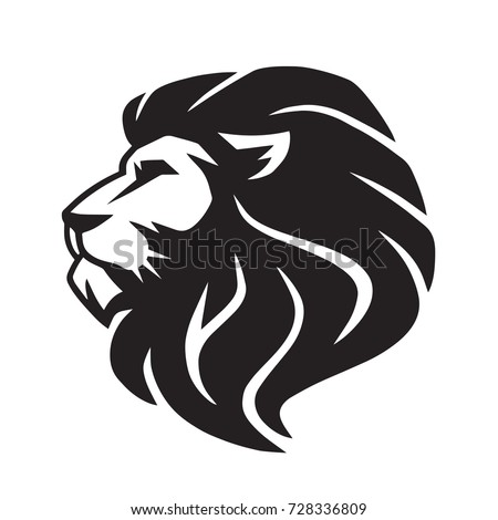 Wild Lion Vector Icon Logo Template