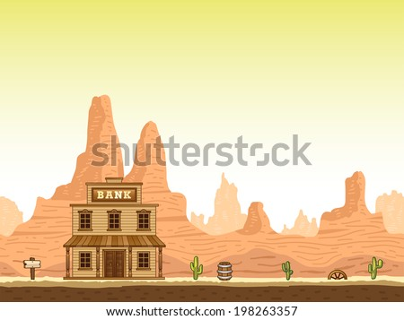 wild  old west canyon
