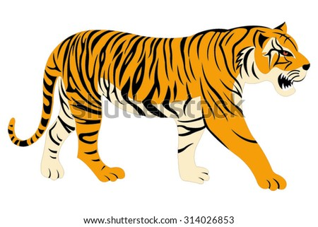 white bengal tigers download free vector art stock graphics images rh vecteezy com bengal tiger clipart black and white royal bengal tiger clipart