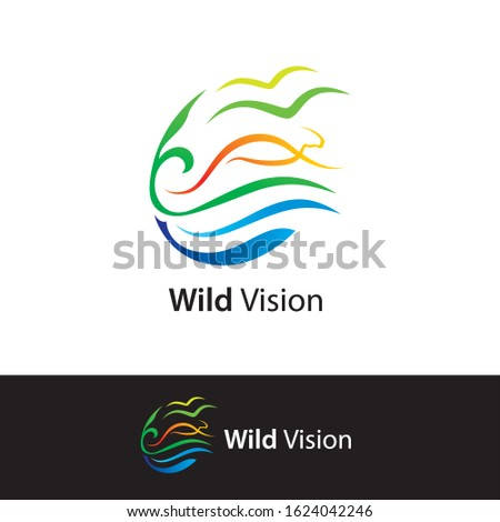 Wild vision logo design video productions wildlife