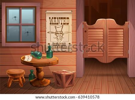 wild west background scene  ...