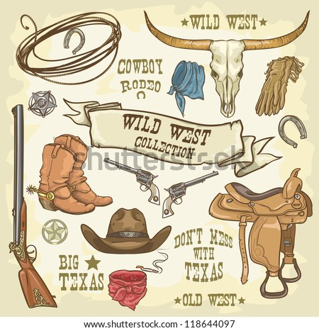 wild west collection  cowboy