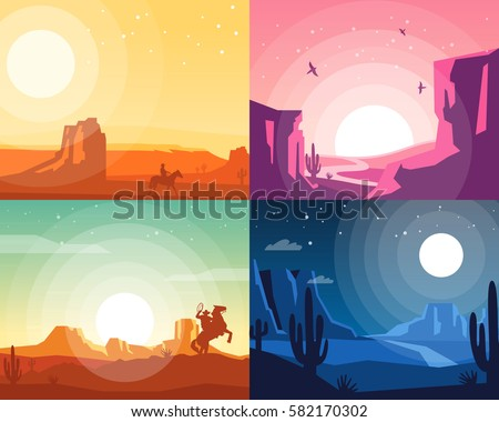 wild west landscape collection