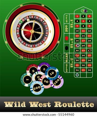 Wild west roulette