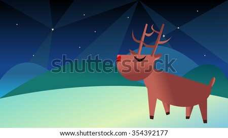 wildlife animal reindeer