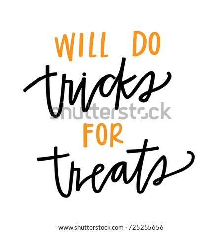 will do tricks for treats