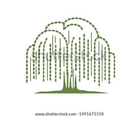 willow tree symbolization with