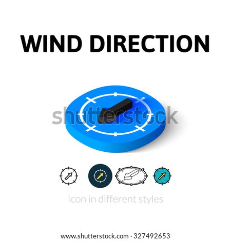 Vector Images, Illustrations and Cliparts: Wind direction ...