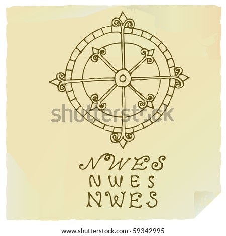 wind rose drawing