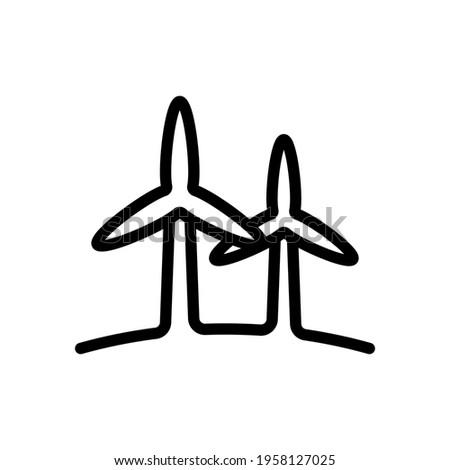 wind turbine  green energy