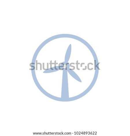 wind turbine, windmill icon