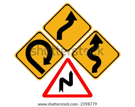 Warning Crushing Of Hands, Sharp Element Signs (Eps 10) Stock ...