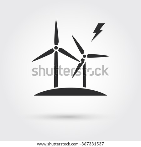 windmills for electric power