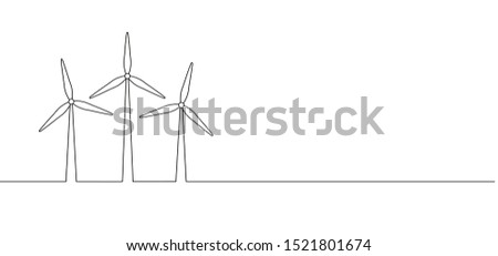 Windmills or wind turbines tower energy alternative sign Line pattern Wind mill mills vector icon icons sign signs fun funny farm wind generator Save ecology green energy electricity power