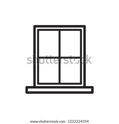 window vector icon