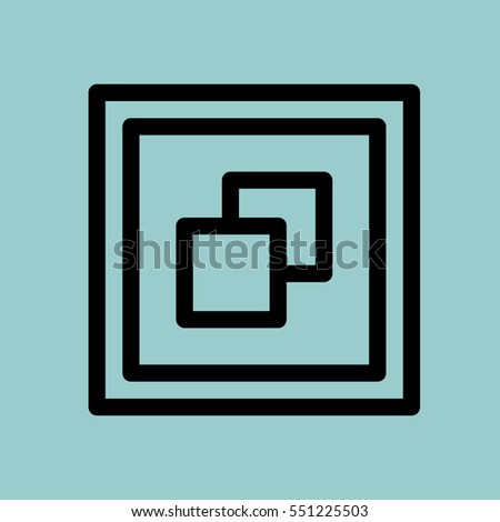 windows icon isolated sign
