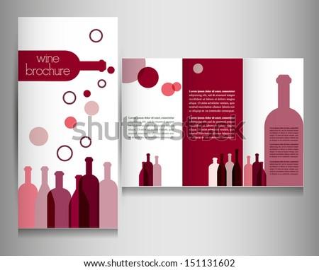 wine card for restaurant