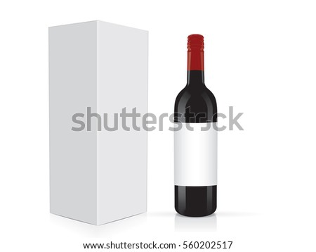 Wine Box Template Download Free Vector Art Graphics Images – Wine Tag Template