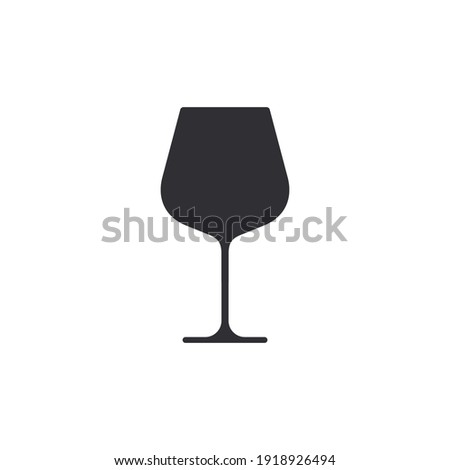 wine glass icon wineglass