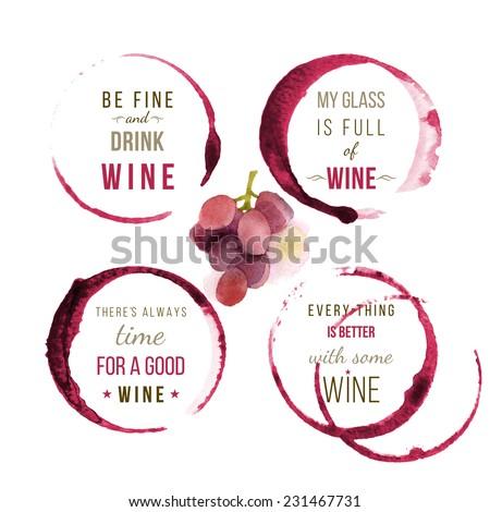 wine type designs