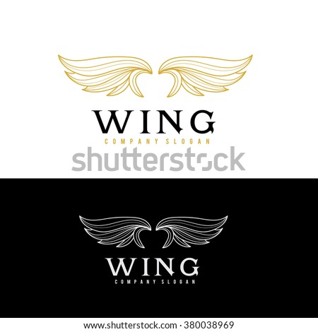 wing logo  eagle logo  freedom