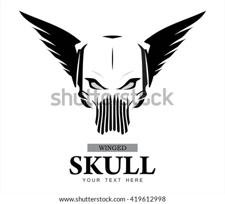 winged skull warrior ghost