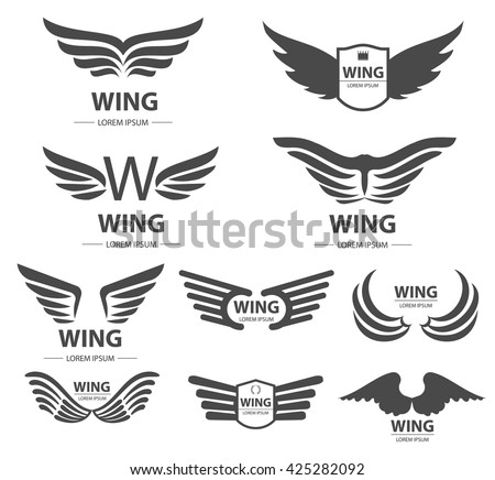 wings logo or design elements