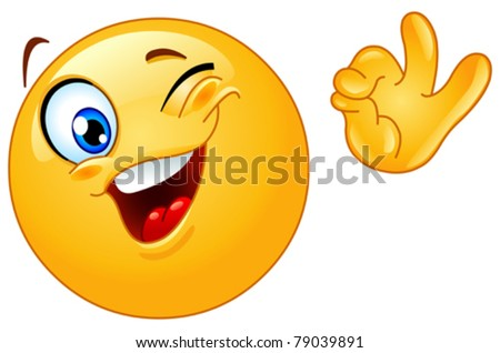 http://image.shutterstock.com/display_pic_with_logo/498865/498865,1307872044,1/stock-vector-winking-emoticon-showing-ok-sign-79039891.jpg