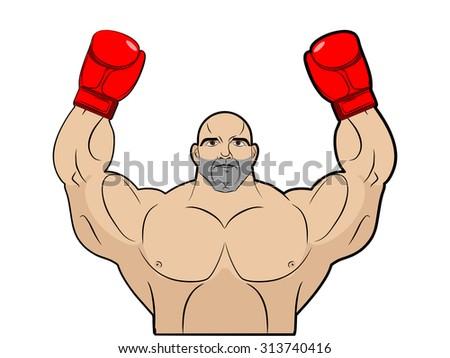 winner  champion of boxing