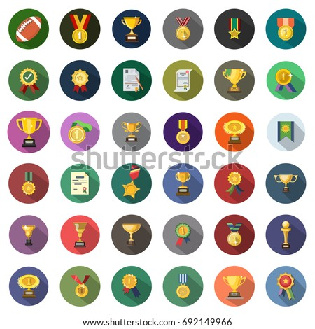 Winner icons