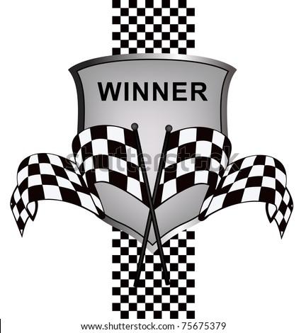 Background Auto Racing on Winner S Racing Background Stock Vector 75675379   Shutterstock