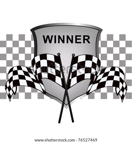 winner's racing background