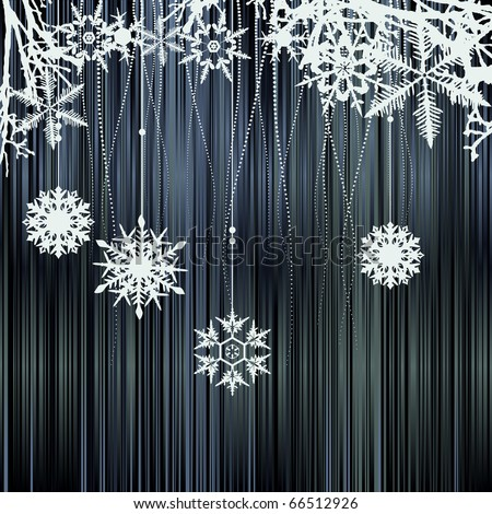 Winter background with a space for your text
