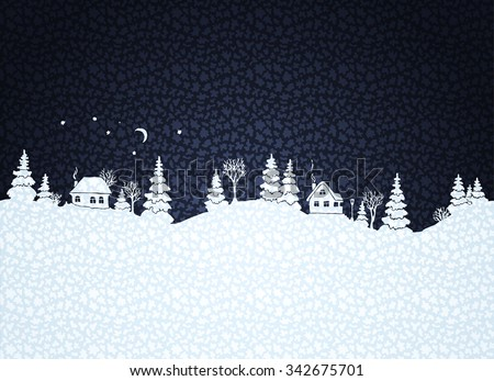 winter background with textured